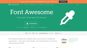 人気のウェブフォント Font Awesome