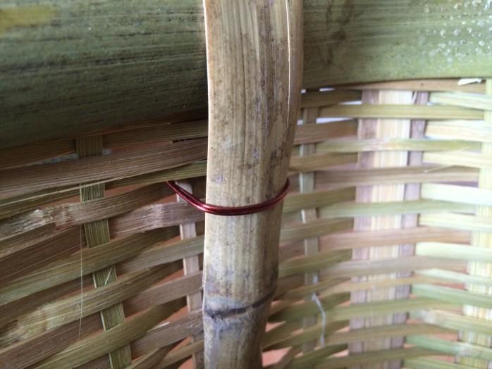 山菜採り用の竹製背負い籠を新調!大サイズなら蕨20kgも目じゃない!2
