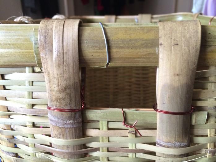 山菜採り用の竹製背負い籠を新調!大サイズなら蕨20kgも目じゃない!3