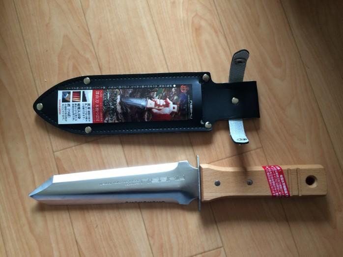 仁作(nisaku)山菜採りナイフのレビュー|深山刀5