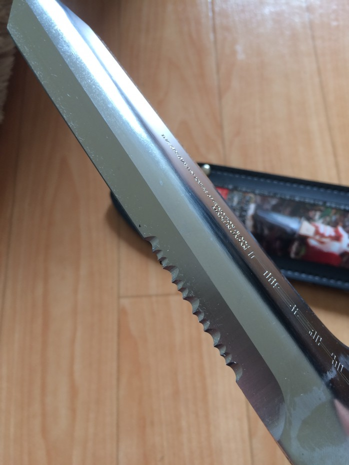 仁作(nisaku)山菜採りナイフのレビュー|深山刀4