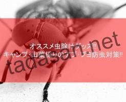 オススメ虫除けグッズ20選!キャンプ・山菜採りのアブ・ブヨ防虫対策!